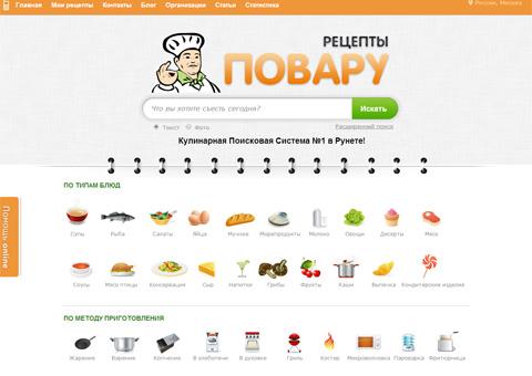 Найти рецепты на одном сайте можно