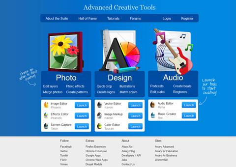 aviary.com  - творческие онлайн-программы