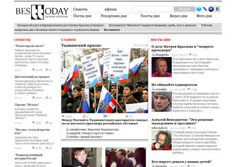 besttoday.ru - Лучшее в блогах
