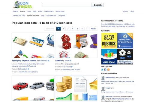 iconfinder.com - Каталог иконок