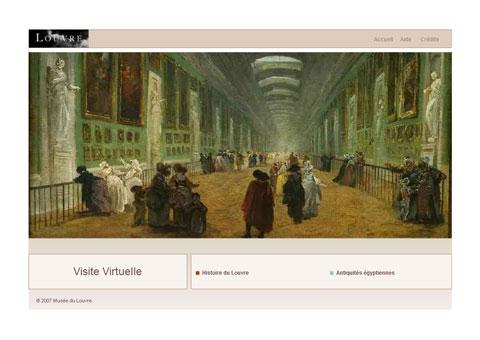 musee.louvre - виртуальное путешествие по Лувру Парижа