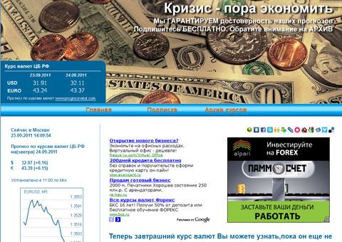 prognozvalut.ru - Прогноз валют