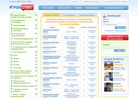 remotvet.ru - Вопросы-ответы по ремонту и строительству