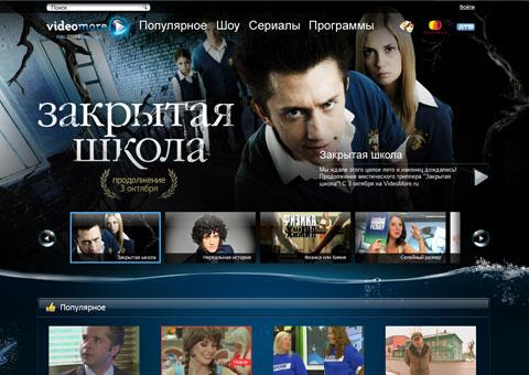"""videomore.ru - Социальная телевизионная сеть """"ВидеоМоре"""""""