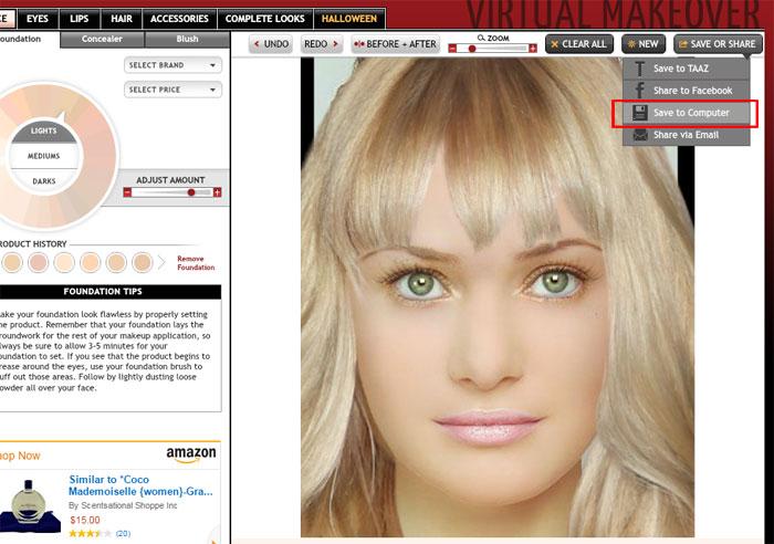 Подбор стрижек онлайн по фото и макияжа