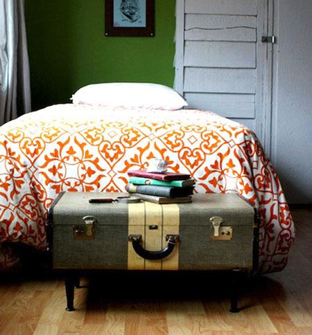 Что сделать из старого чемодана или