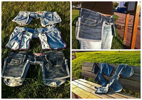 Строительный пояс своими руками из джинса 53