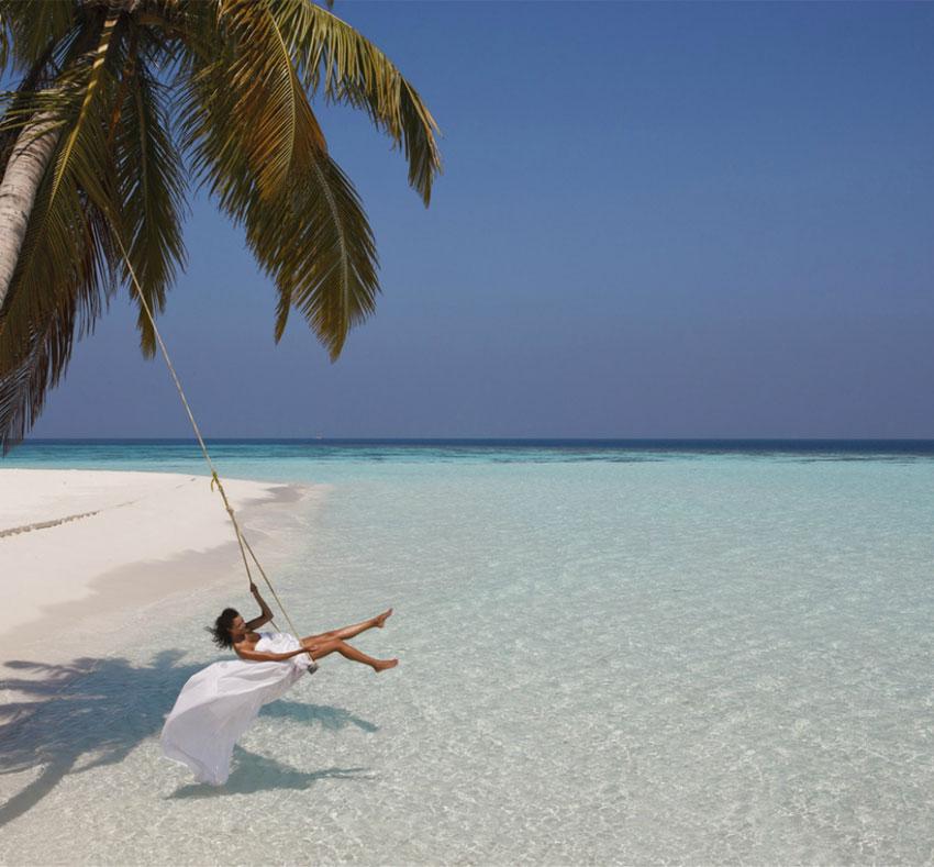 Фото на гамаке пляж 33