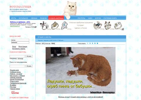 Котоматрица - Юмор в картинках с животными